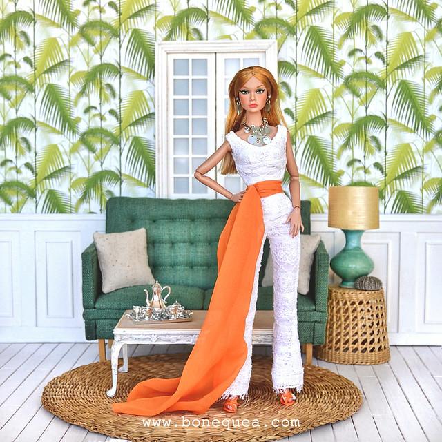 Ooak Groovy Galore Poppy Parker: Hollywood Hostess