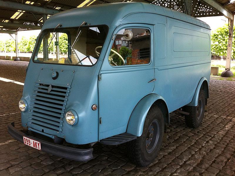 Renault 1000 KG – Postes