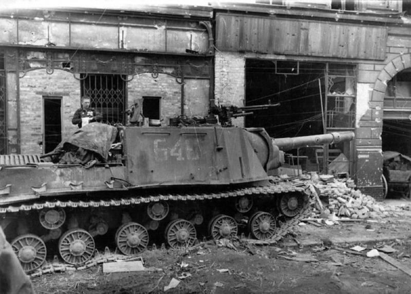 Nõukogude raske iseliikuvad relv JSU-152