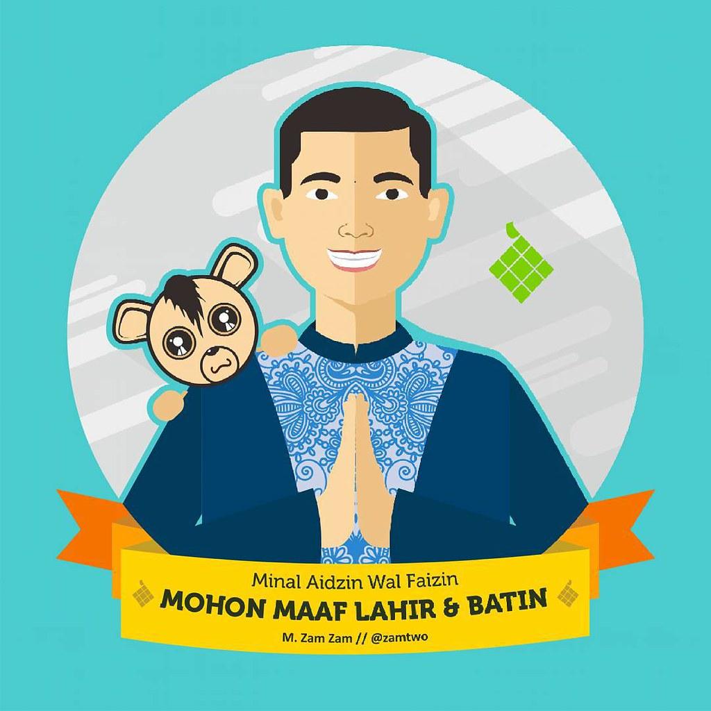 'Mohon Maaf Lahir & Batin' 🙋 Teman-teman Mohon Maaf Lahir