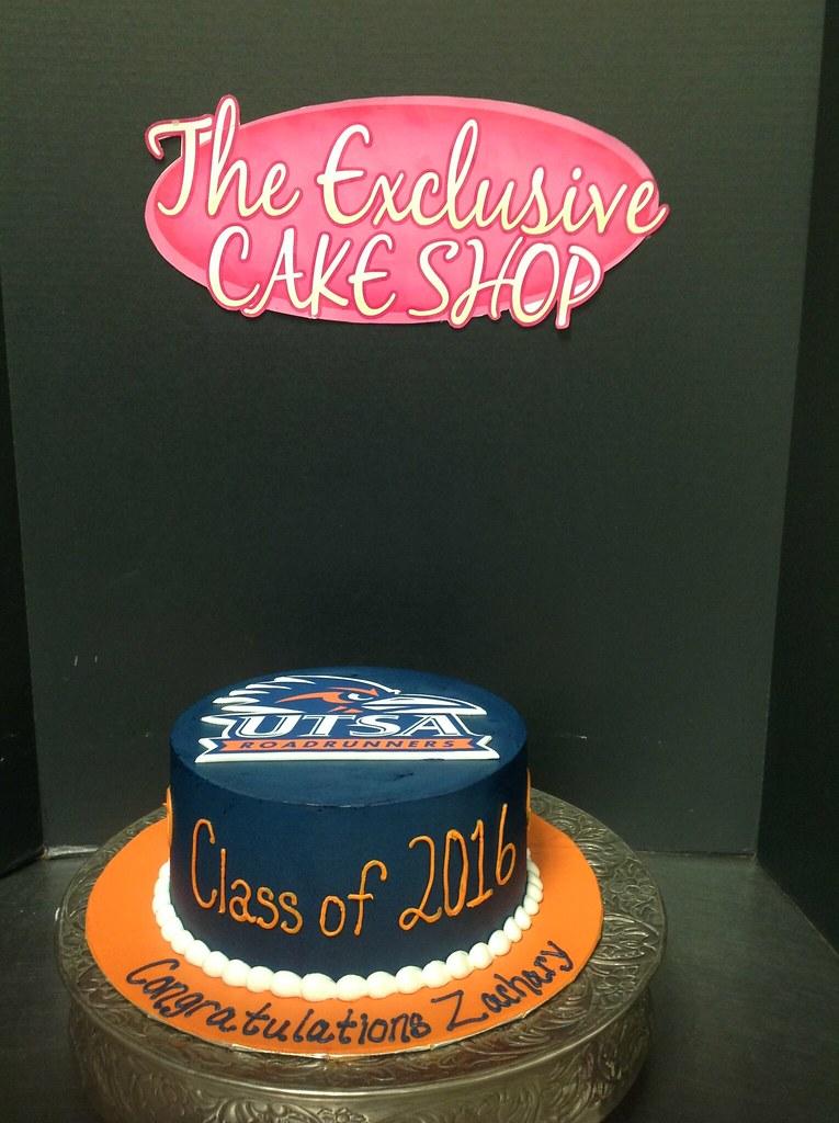 UTSA Graduation Cake O A