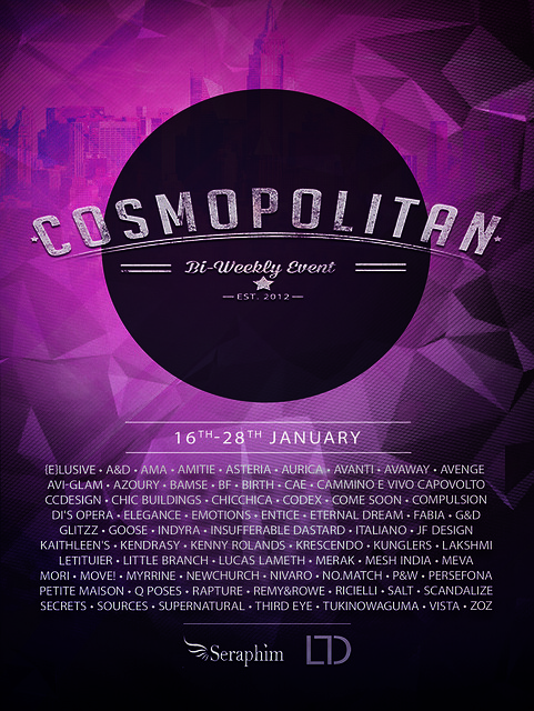Cosmopolitan {Round 11/5} 16th - 28th January