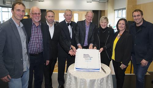 Opening day cake