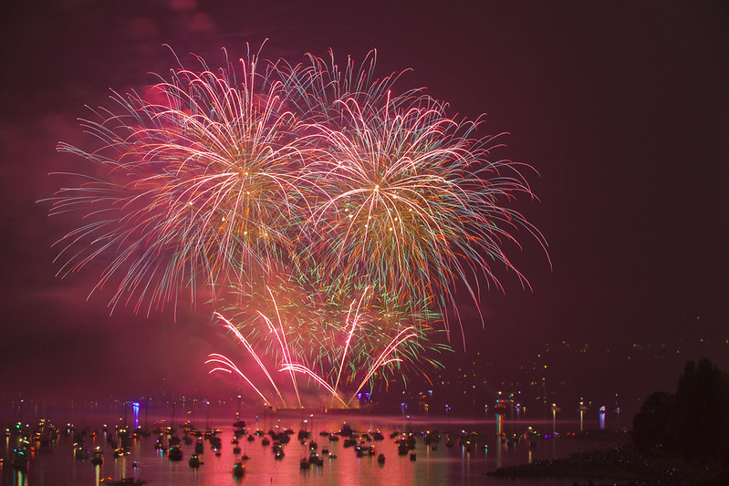 Celebration Of Light by Team Canada, August 5th, 2017