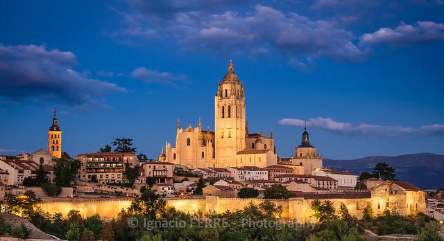 Night over Segovia