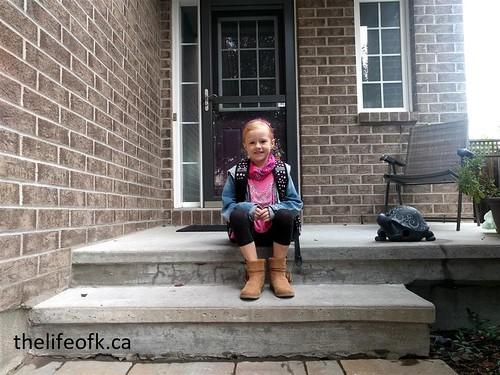 FirstDayofSchool_LittleKStep | by Life of K Blog