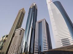 Torres en el Centro Financiero de Dubai
