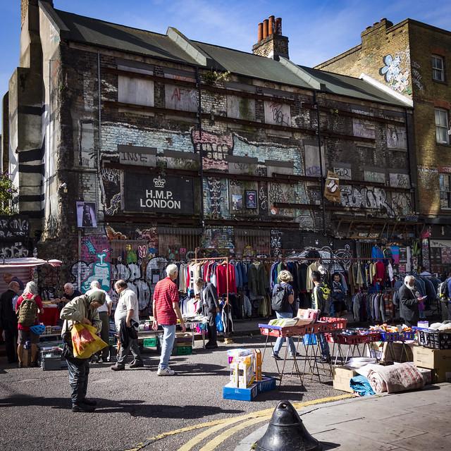 Sclater Street Market, Shoreditch