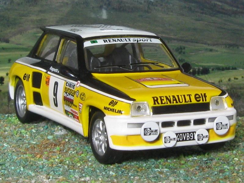 Renault 5 Turbo - Montecarlo 1981
