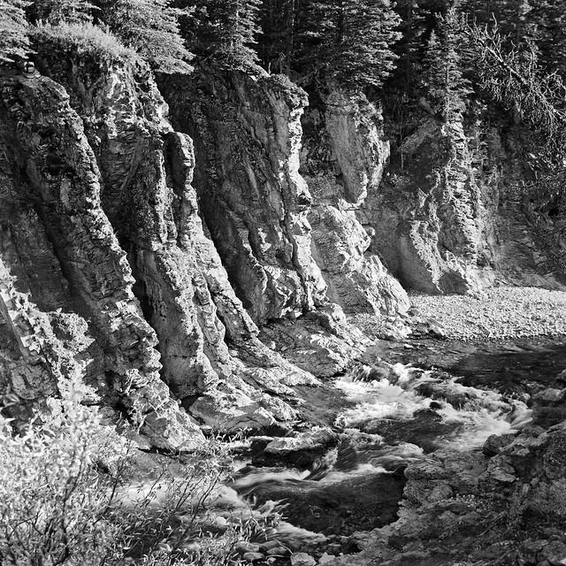 Sheep River canyon