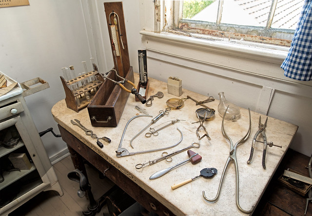 Dr. Rindge's tools