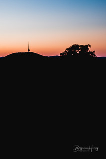 Twilight Red Hill | by boxyinfinity