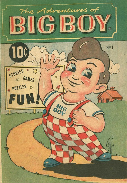 Frisch's Big Boy - Children's Comic book