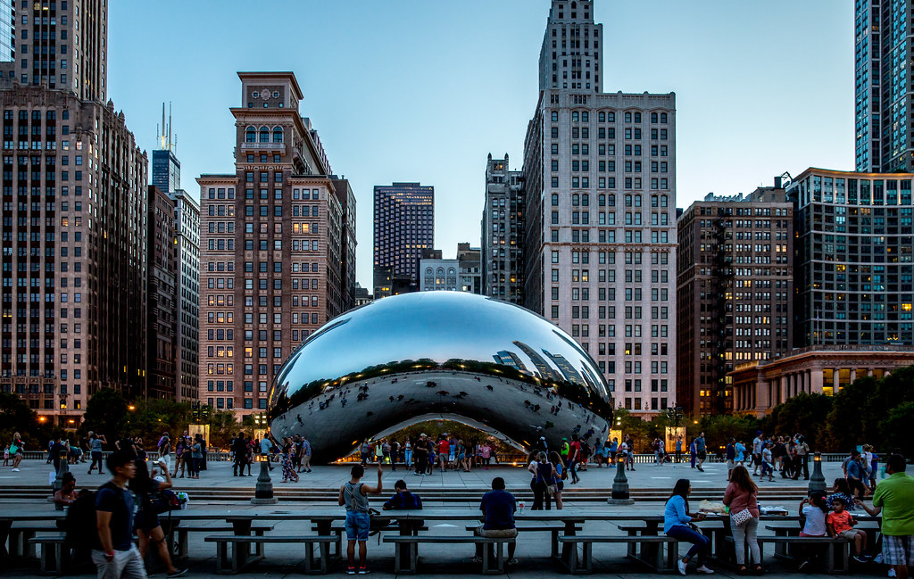 The Bean | The most iconic view of Chicago, yet so spectacul… | Flickr