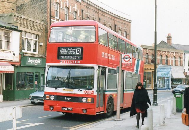 10 May 1991 Wimbledon A965SYE