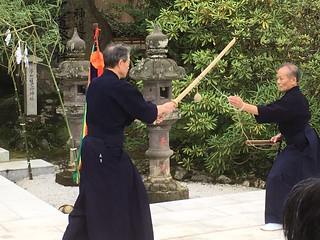 Osato Sensei and Abe Sensei | by Mark Tankosich