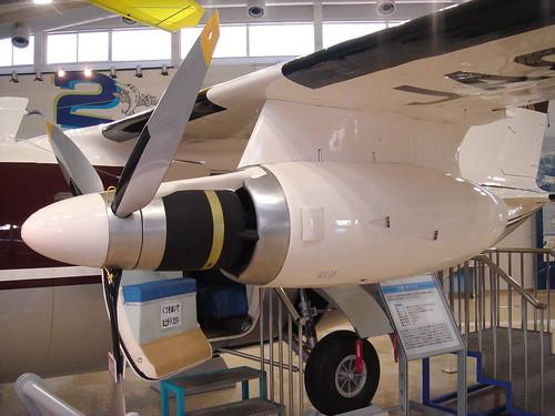 MU-2 エンジン JA8626