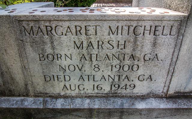 Oakland Cemetery - Margaret Mitchell (8206)