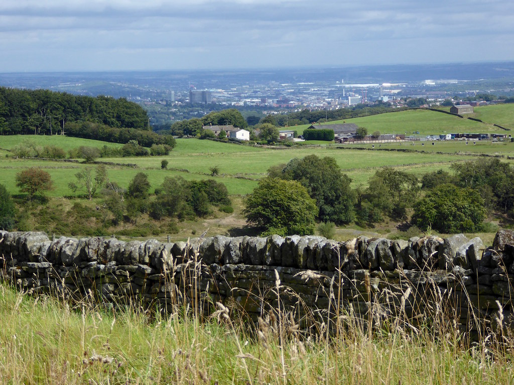 Sheffield from the moors Sheffield to Bamford walk