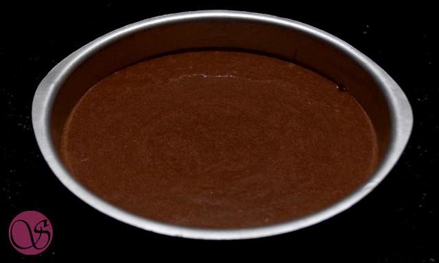 Eggless Chocolate Semolina Cake