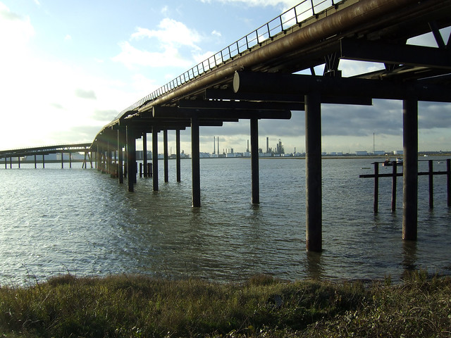 The Thames Estuary from Canvey Island