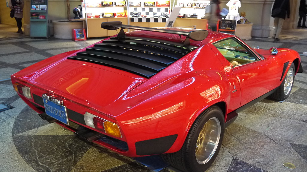 Lamborghini Miura SVJ (JOTA) – 1970