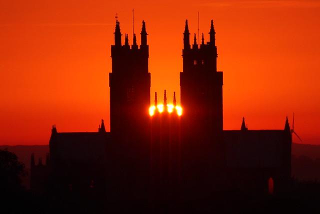 Beverley Minster Sunrise