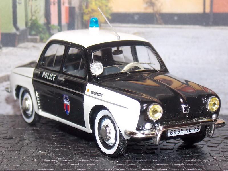 Renault Dauphine - Police Paris - 1962