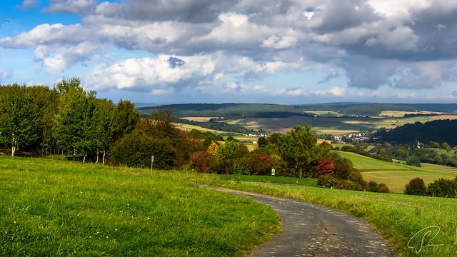 Herbstlandschaft im Taunus