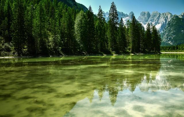 Riflessi sul lago di Landro