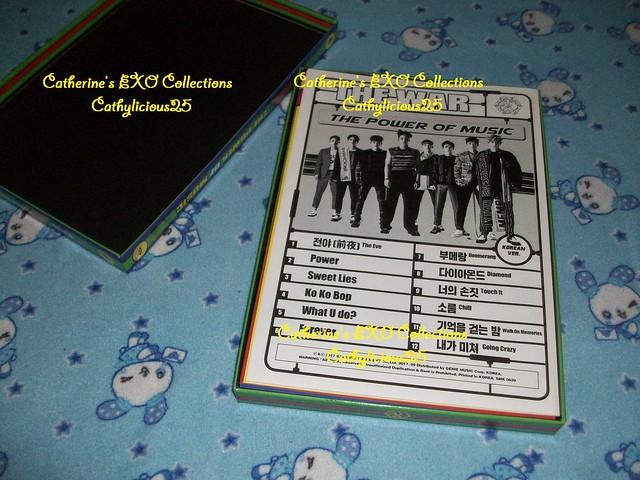 EXO Collections POWER Album