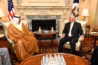 Secretary Tillerson Meets With Kuwaiti Foreign Minister Sheikh Sabah Al-Khale‎d Al-Hamad Al-Sabah Before Hosting the U.S.- Kuwait Strategic Dialogue