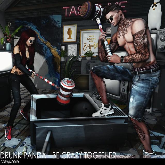 Drunk Panda - BeCrazyTogether