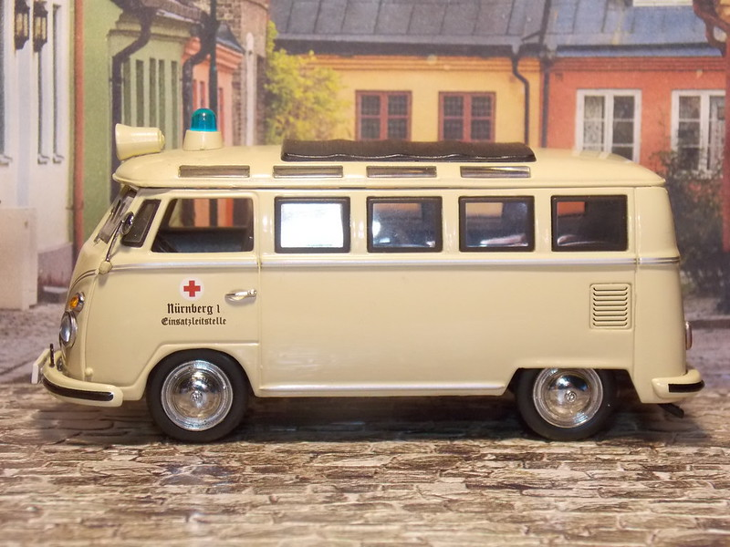 VW T1 Samba – Ambulancia – 1959