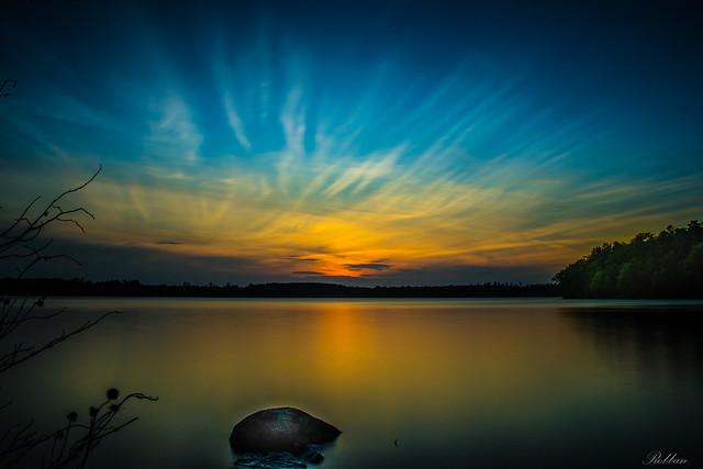 Sunset Over Rängen