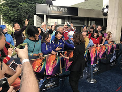 Michelle Yeoh & Cosplayers at the Star Trek Discovery Premiere - IMG_0010