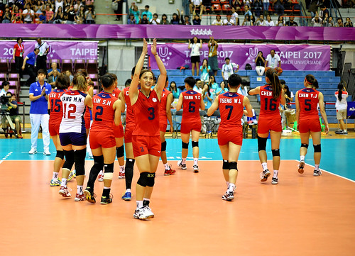 Taipei Universiade 2017 - 台灣排球 - Volleyball - Taiwan vs Tzech Republic   by RandomIbis2k12