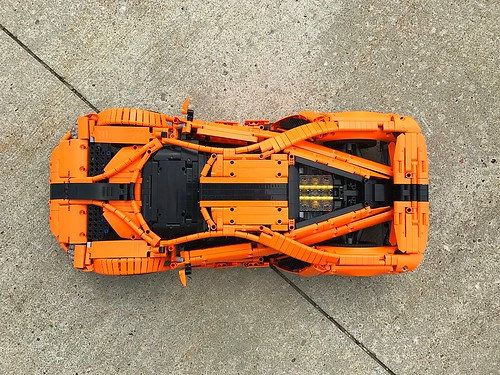 Ford GT - Top view | by loxlego