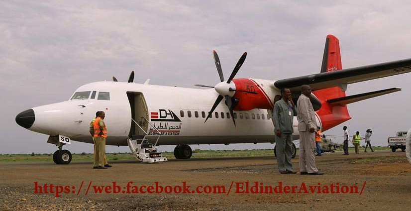 July 2017 | New addition to El Dinder Aviation fleet | Fok