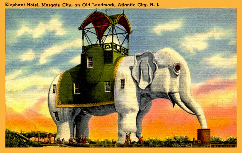 Lucy, the Elephant Hotel, Atlantic City