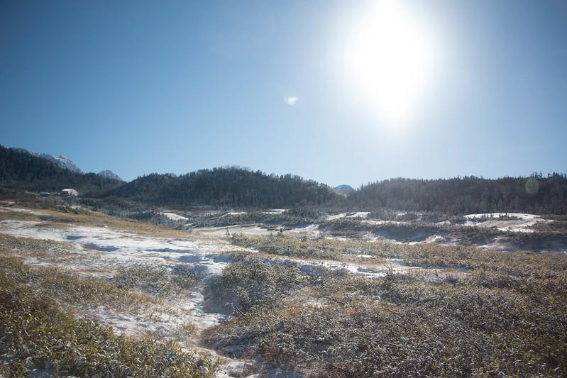 初冬の立山黒部アルペンルート