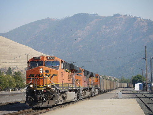 Coal Train at Missoula | by John Csoka