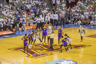 2017 WNBA Finals Tipoff | by Sam Wagner Photography
