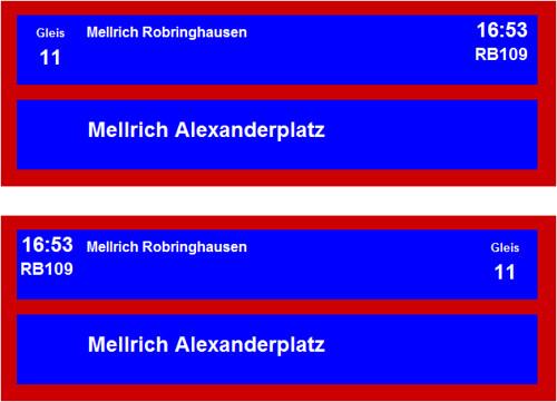 Zugzielanzeicher Altg Gl11 | by neudalhausenstadbahn
