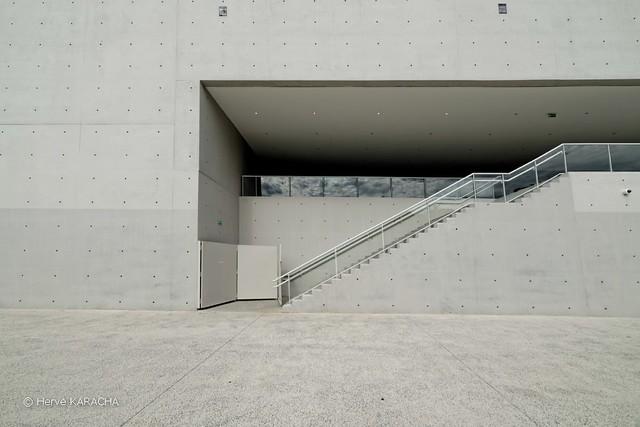 L'escalier - La Seine Musicale