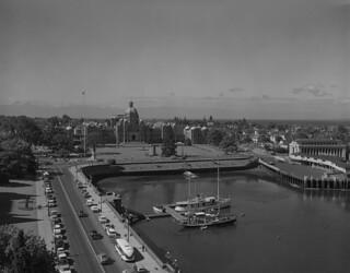 Victoria Harbour, Vancouver Island, British Columbia / Port de Victoria, île de Vancouver (Colombie-Britannique)