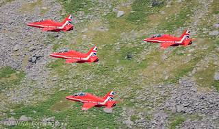 6. Red Arrows low level at Ogwen Valley | by JTW Aviation Images