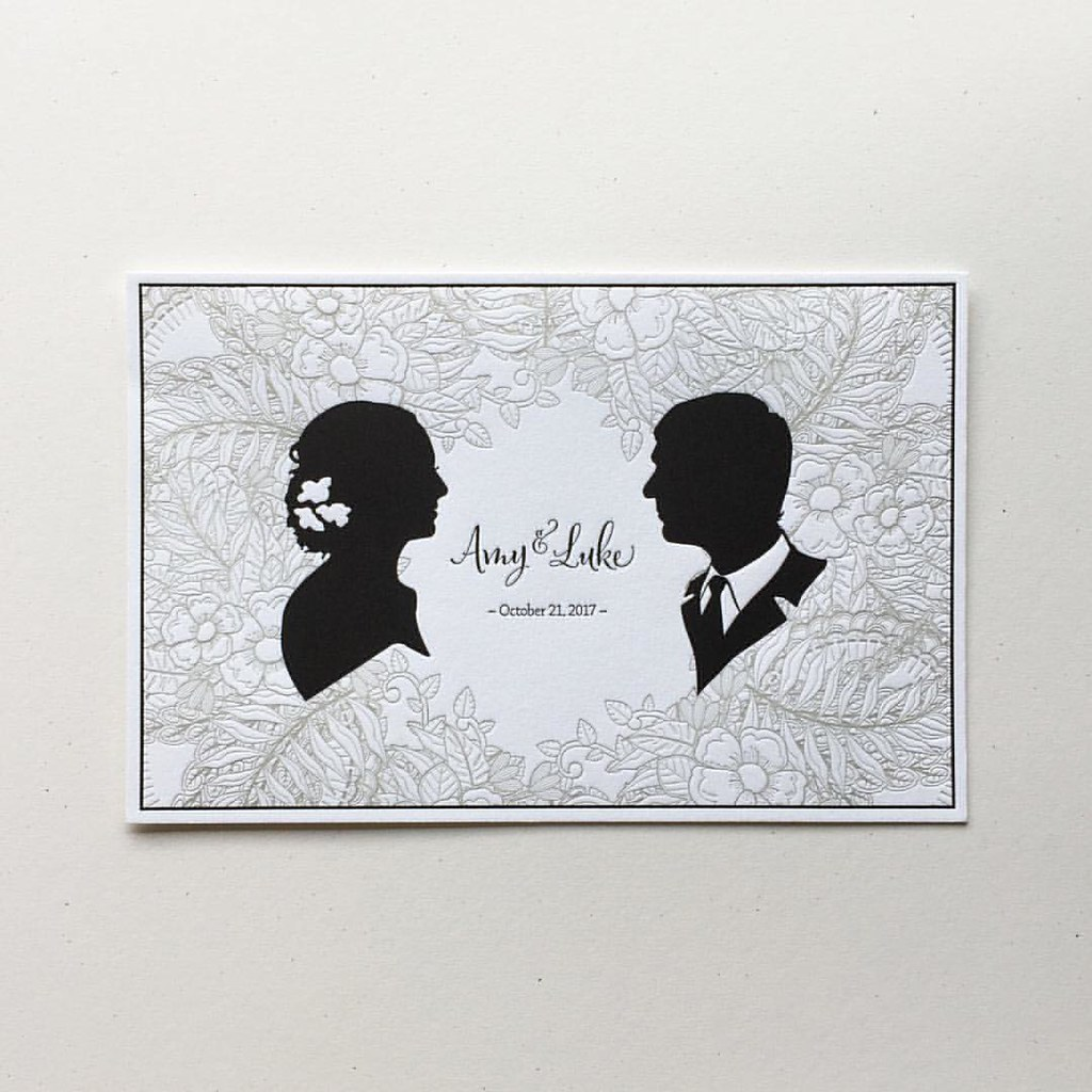 Wedding Invitation Card From A Multi Piece Set We Recently