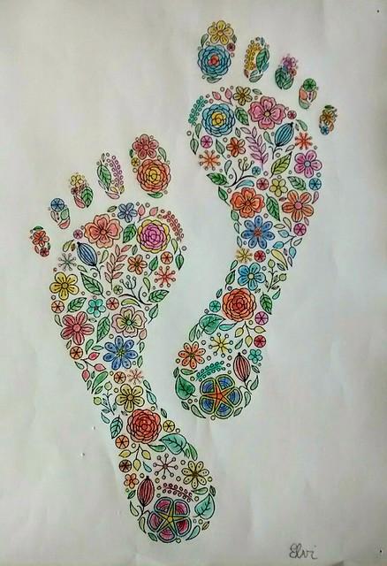 Piedi fioriti