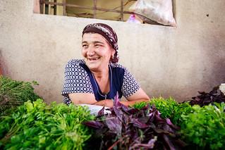Georgian women on the local market. | by lskornog